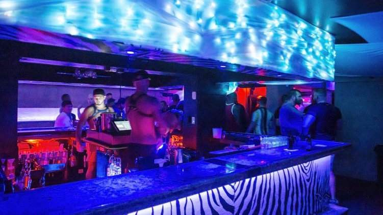 Twist is THE premier gay bar in Miami, with seven bars and three dancefloors inside!
