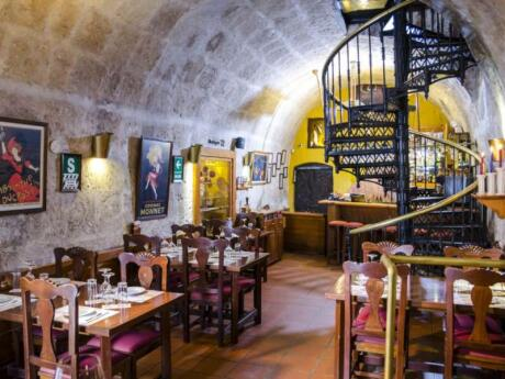 Zig Zag restaurant in Arequipa has a very cool interior and also serves delicious Peruvian fusion cuisine