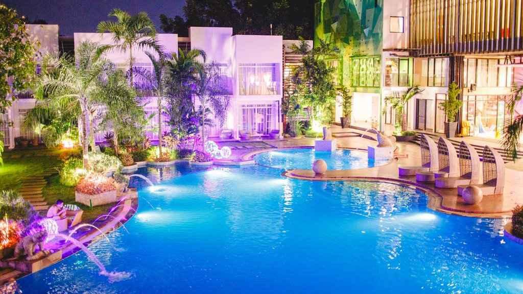 O Aziza Paradise Hotel é um dos hotéis mais modernos e luxuosos de Palawan