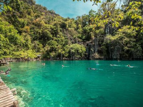 Coron is a gorgeous spot in Palawan for swimming, diving or kayaking