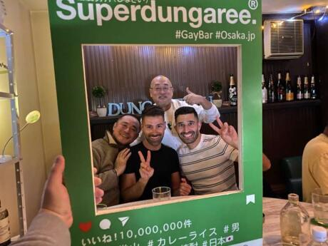 Dungaree is a gay bear bar in Osaka that really focuses on friendliness