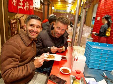 Doing a foodie tour is a fun and yummy way to get to know Osaka