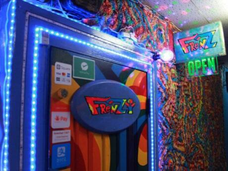 FrenZ FrenZY Rainbow Haven is as colorful as you would expect and this gay bar has also hosted Lady Gaga!