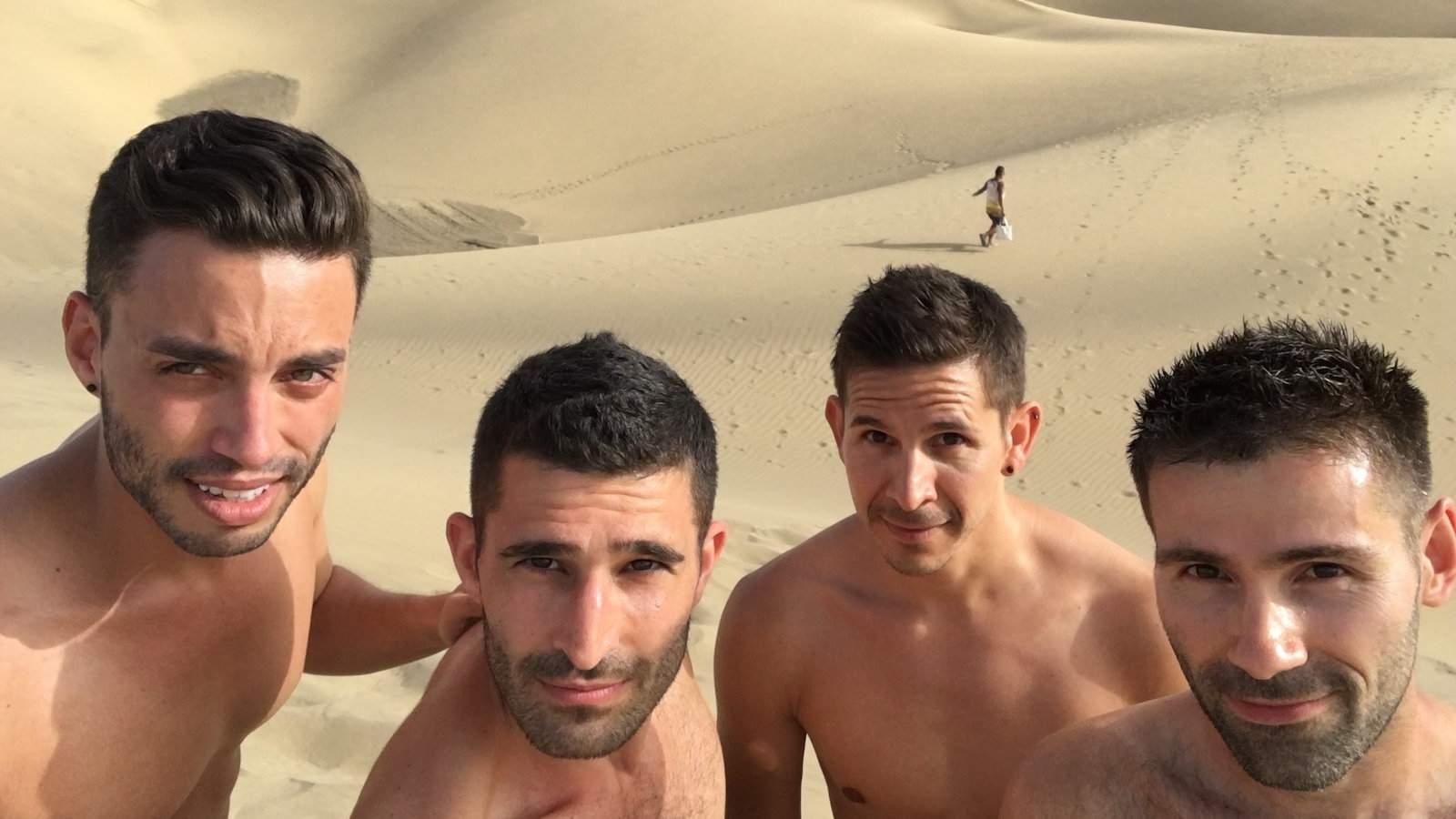 Maspalomas é a nossa praia gay favorita em Gran Canaria, e as roupas também são opcionais!