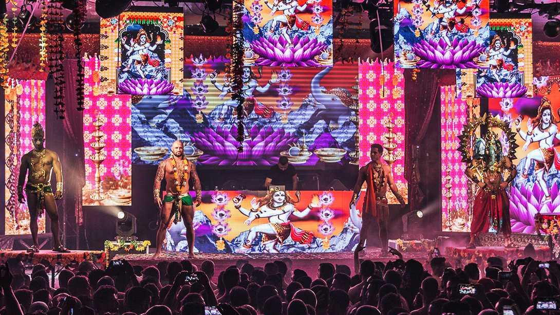 The WE New Year Festival is a gay extravaganza running for a whole week in Madrid Spain