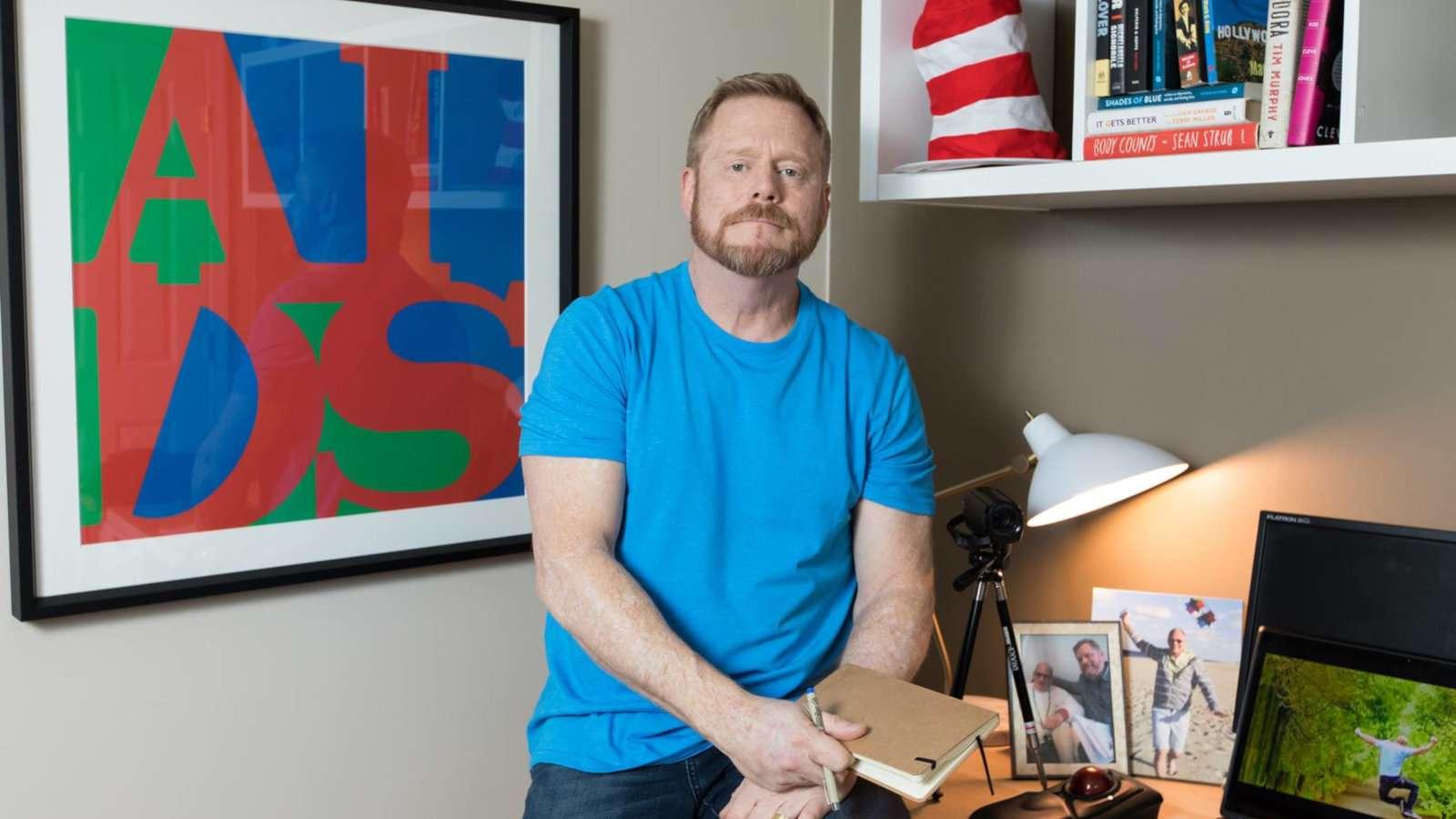My Fabulous Disease é um blog inspirador e informativo sobre como viver com HIV como um homem gay