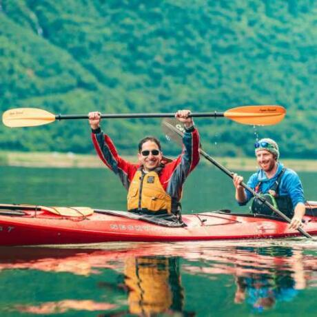 Join a gay tour of Norway with Out Adventures to push yourself with hiking, kayaking and more