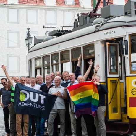 Explore Portugal with new gay friends on a tour with Out Adventures