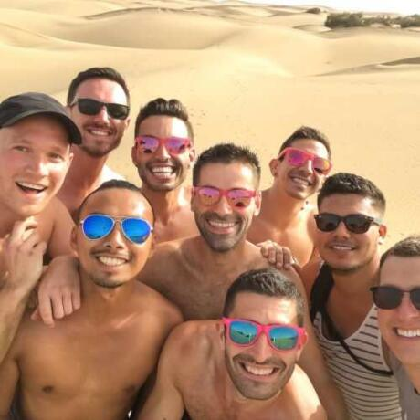 Discover the world with gay friends on a tour by Out Adventures