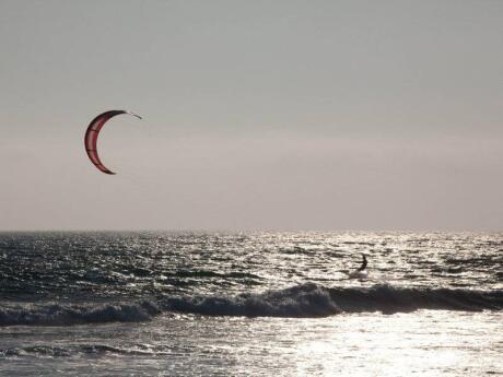 Sibaltan Village is a peaceful spot where you can relax or try some kite surfing!