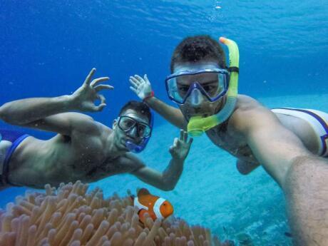 Mergulhar nas águas de Palawan é um sonho