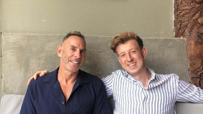 Max e Dave são os anfitriões de Your Private Journey e são ambos muito interessantes e divertidos
