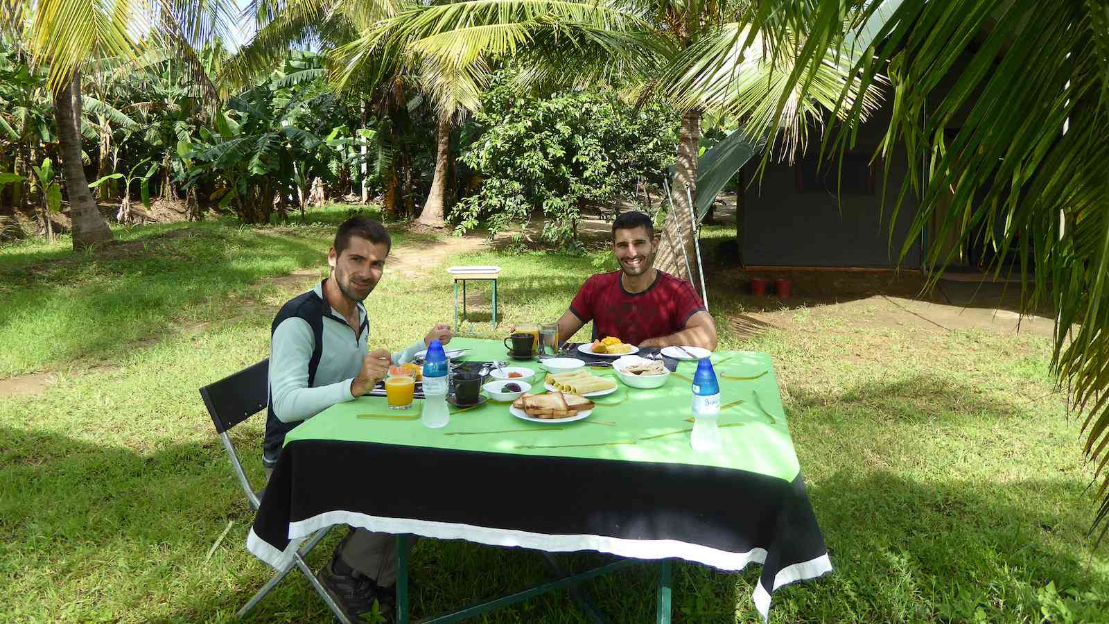 Master Campers include delicious meals as part of their all-inclusive safari in Udawalawe