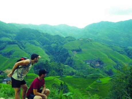 The Longshen Rice Terraces are a beautiful spot to explore in China by hiking