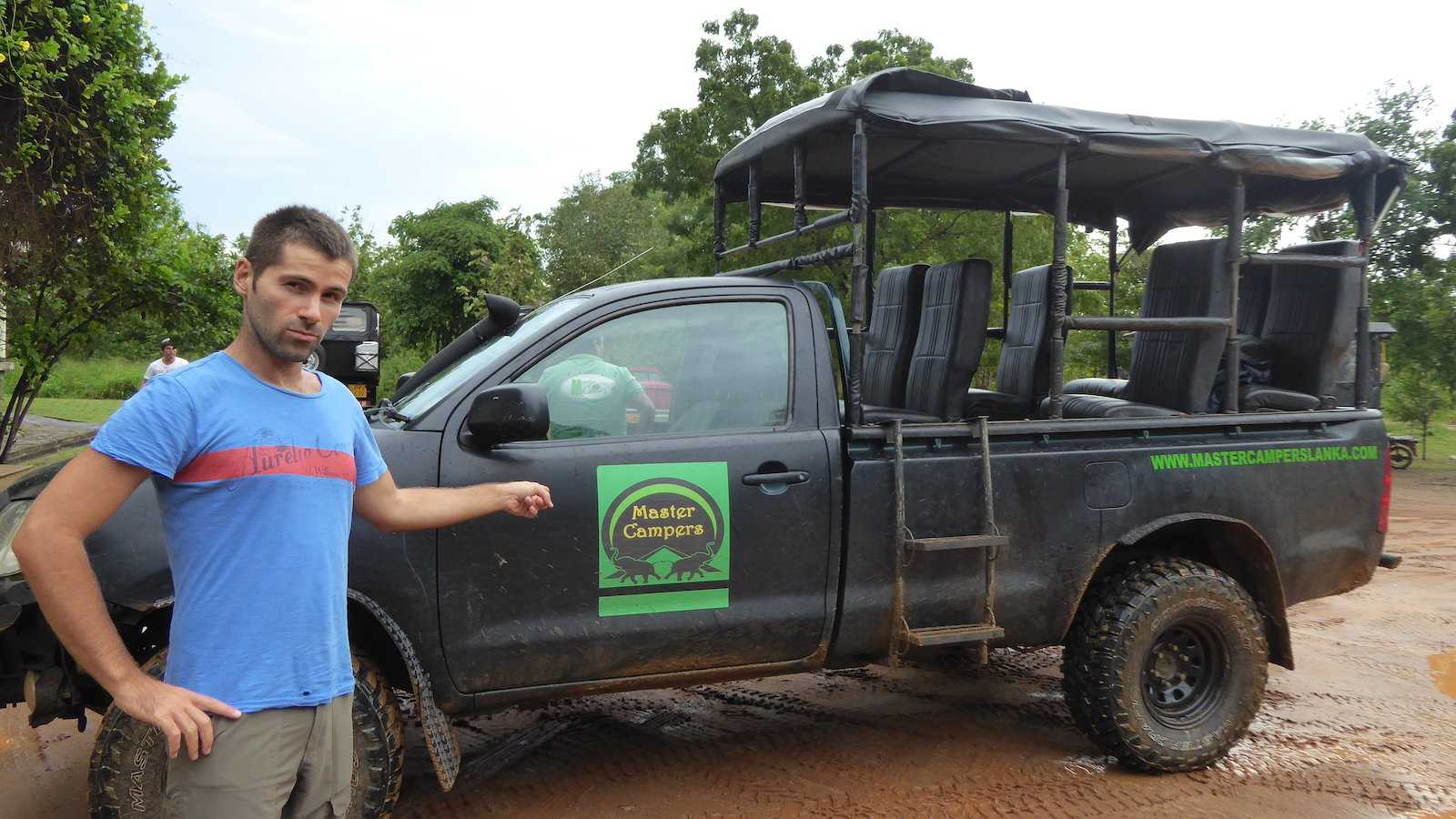We used Master Campers for an all-inclusive safari in Udawalawe