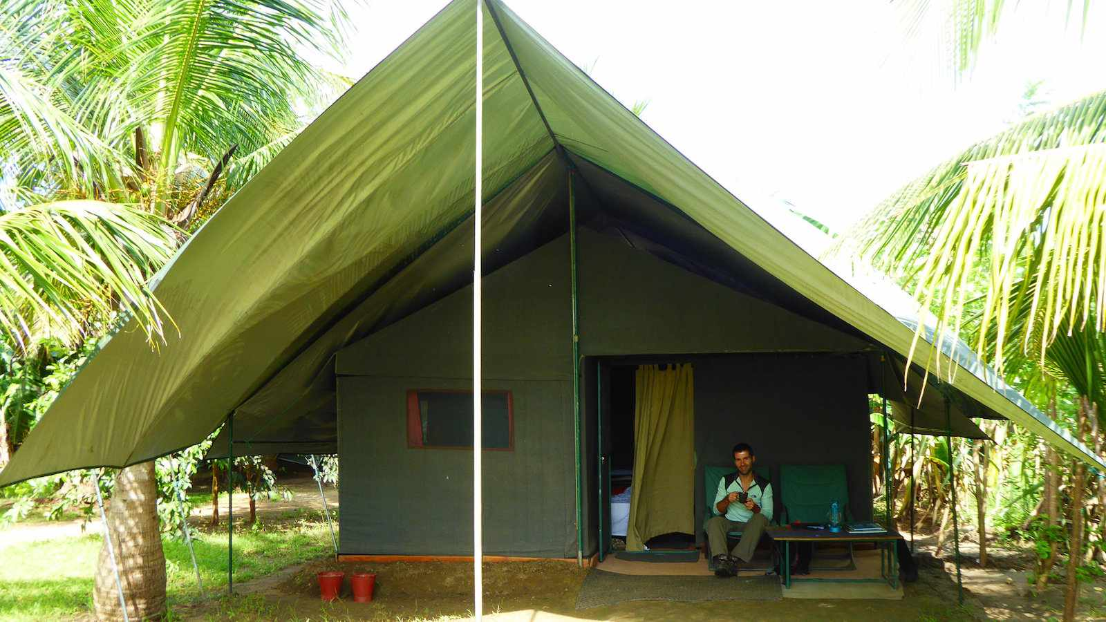 For an incredible safari experience in Udawalawe National Park you have to try glamping with Master Campers