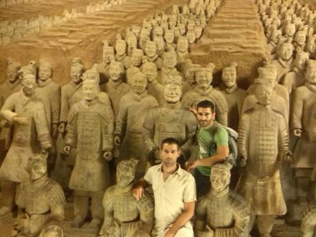 The famous Terracotta Army in Xian is another must see for gay travelers to China