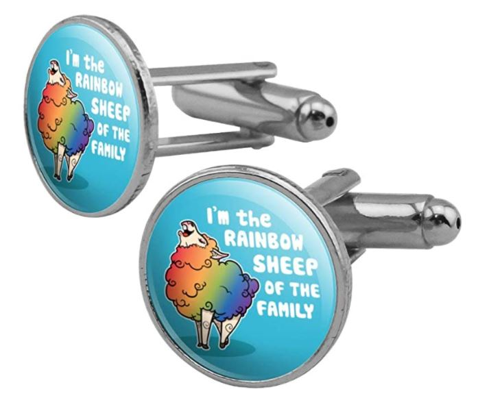 Cufflinks make a sweet and quirky gift for gay couples