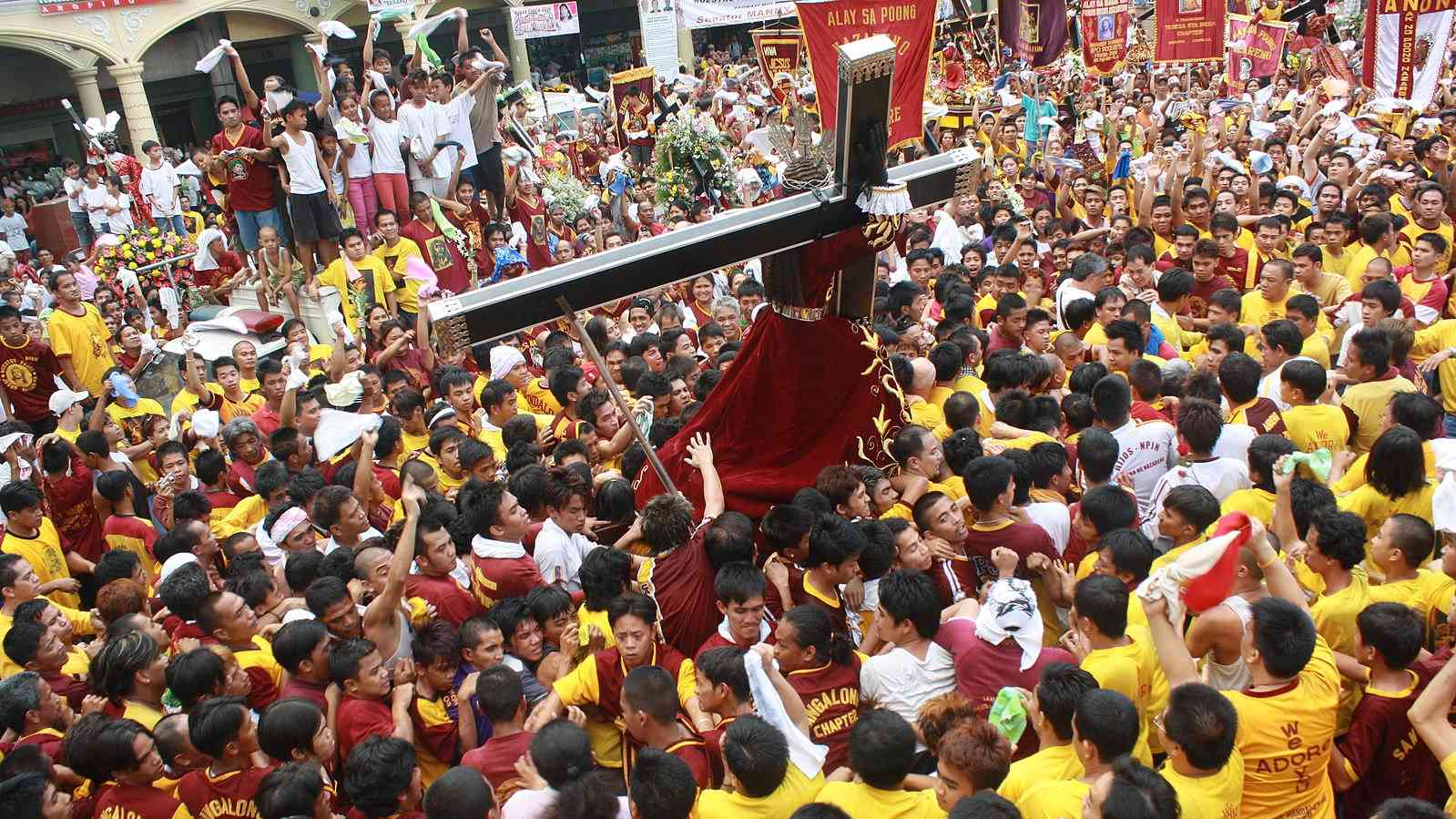 The Philippines is the only Christian nation in Asia and the people take their religious holidays very seriously!