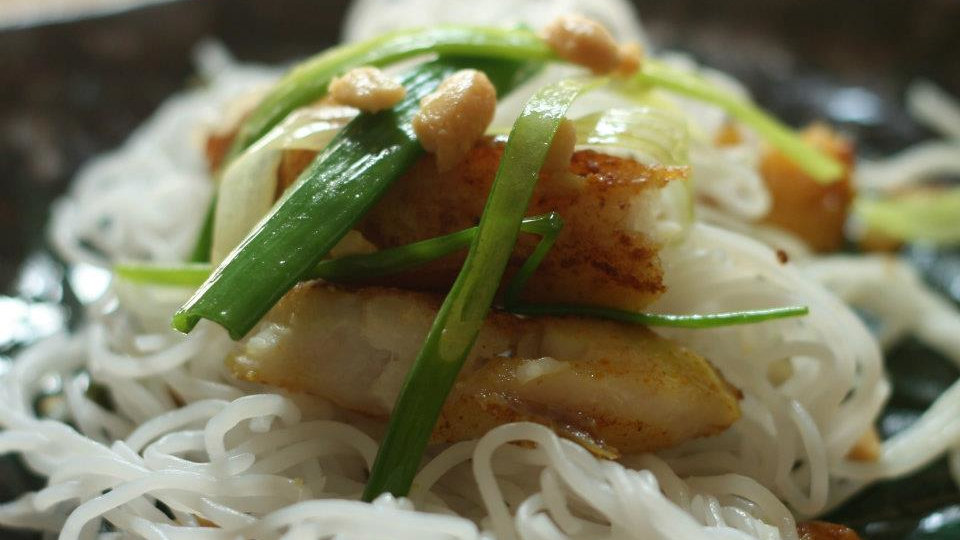 If you like fish you definitely need to try traditional Cha ca La Vong in Vietnam