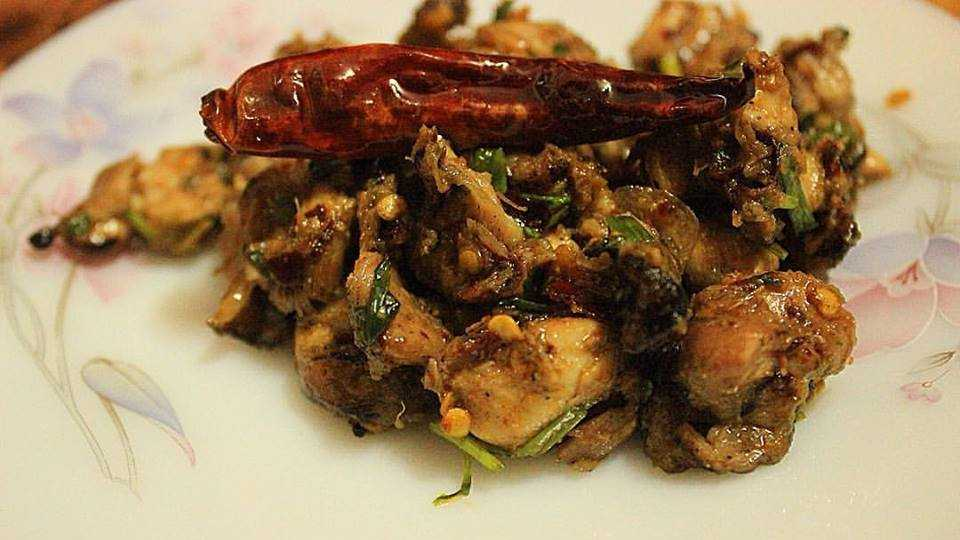If you like spicy meat then you will love choila, a traditional food from Nepal