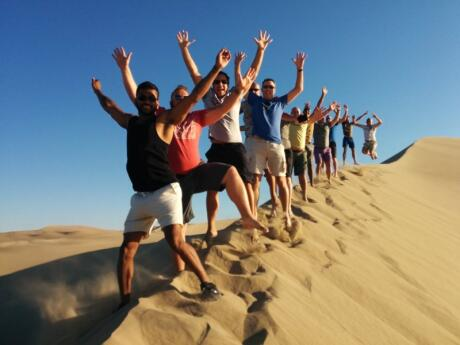 Detours provides a fun gay group tour to Peru that visits the main sites of Lima, Cusco and Machu Picchu as well as time in the beachside town of Paracas