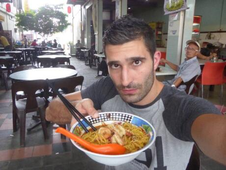 You can try laksa in many Asian countries but we especially loved the ones we tried in Malaysia