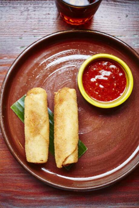 Mutton rolls are Sri Lanka's answer to the spring roll and they are different but soooo good!