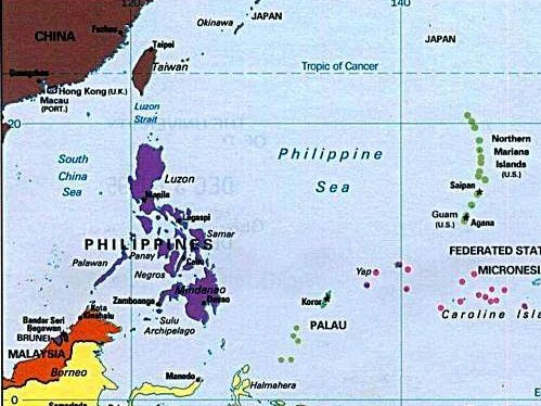 The Philippines has roughly 7,640 islands making it the second-largest archipelago in the world