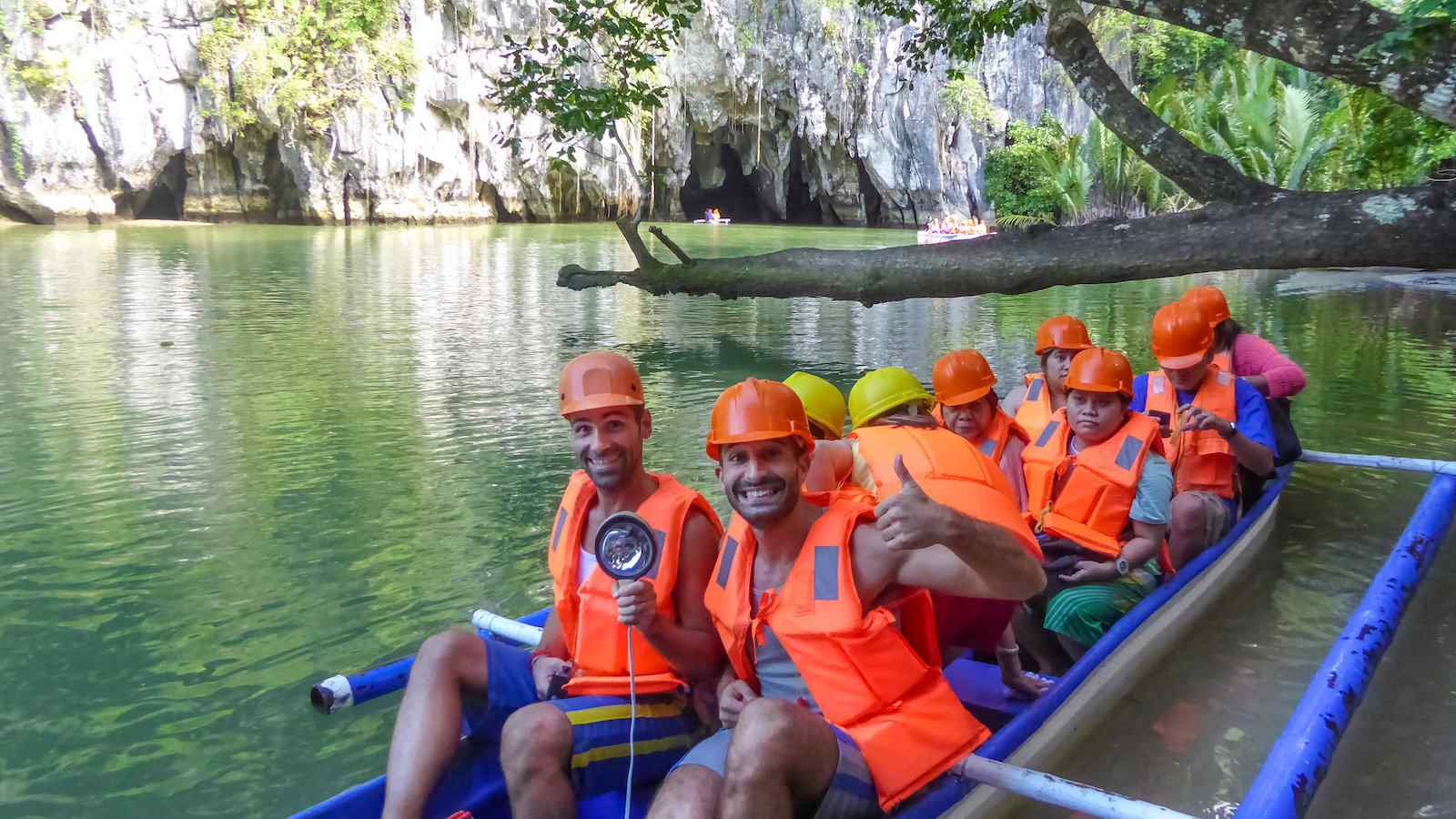 The Puerto Princesa Subterranean River is the longest underground river in the world and it can be found in the Philippines