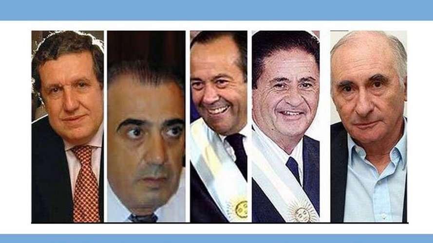 Durante a agitação civil, a Argentina teve cinco presidentes em dez dias