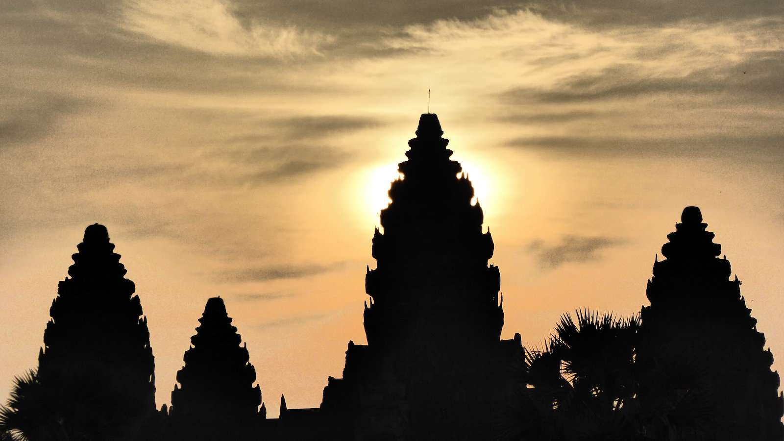 Angkor Wat is an important national monument and tourist destination in Cambodia