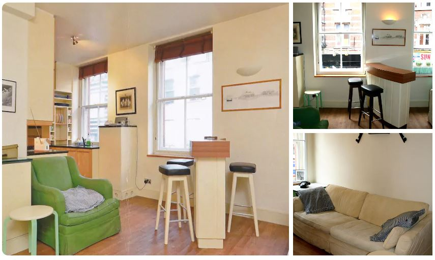 This gay Airbnb in the heart of gay Soho is perfect for a couple visiting London
