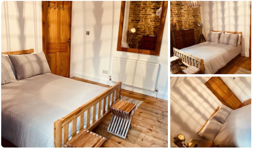 We love this boho chic gay Airbnb room where you can stay in Clapham while visiting London