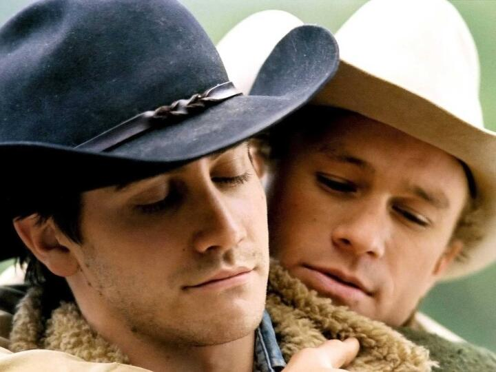 Love between two cowboys in the American West
