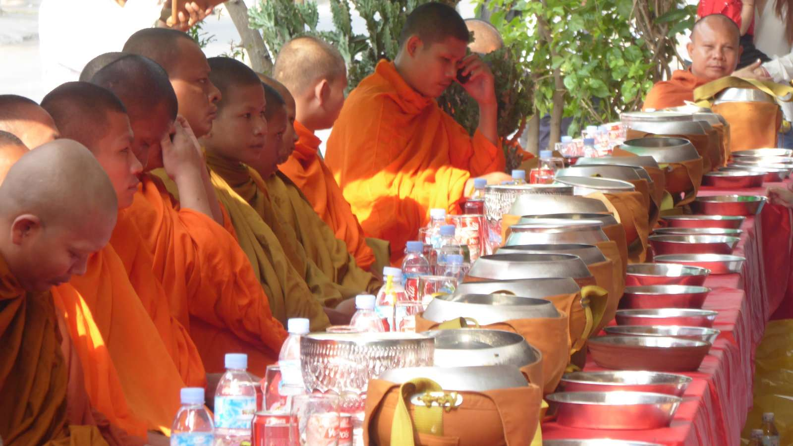 Buddhism is the official religion of Cambodia with around 95% of the population practicing it!