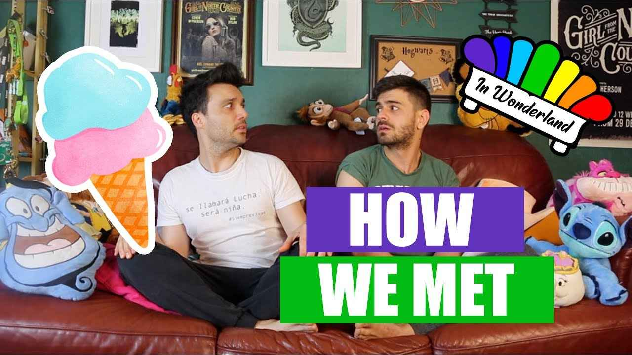 In Wonderland Arif and Ricky is the magical world of a gay couple on YouTube