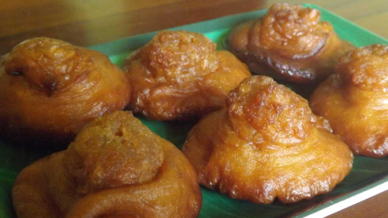 O konda kavum do Sri Lanka é um tipo de bola de óleo muito mais saborosa do que parece