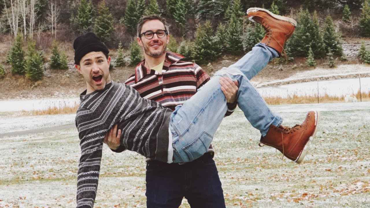 Matt and Blue are the gay cowboy husbands/dads of our dreams and they have a fun YouTube channel sharing their life