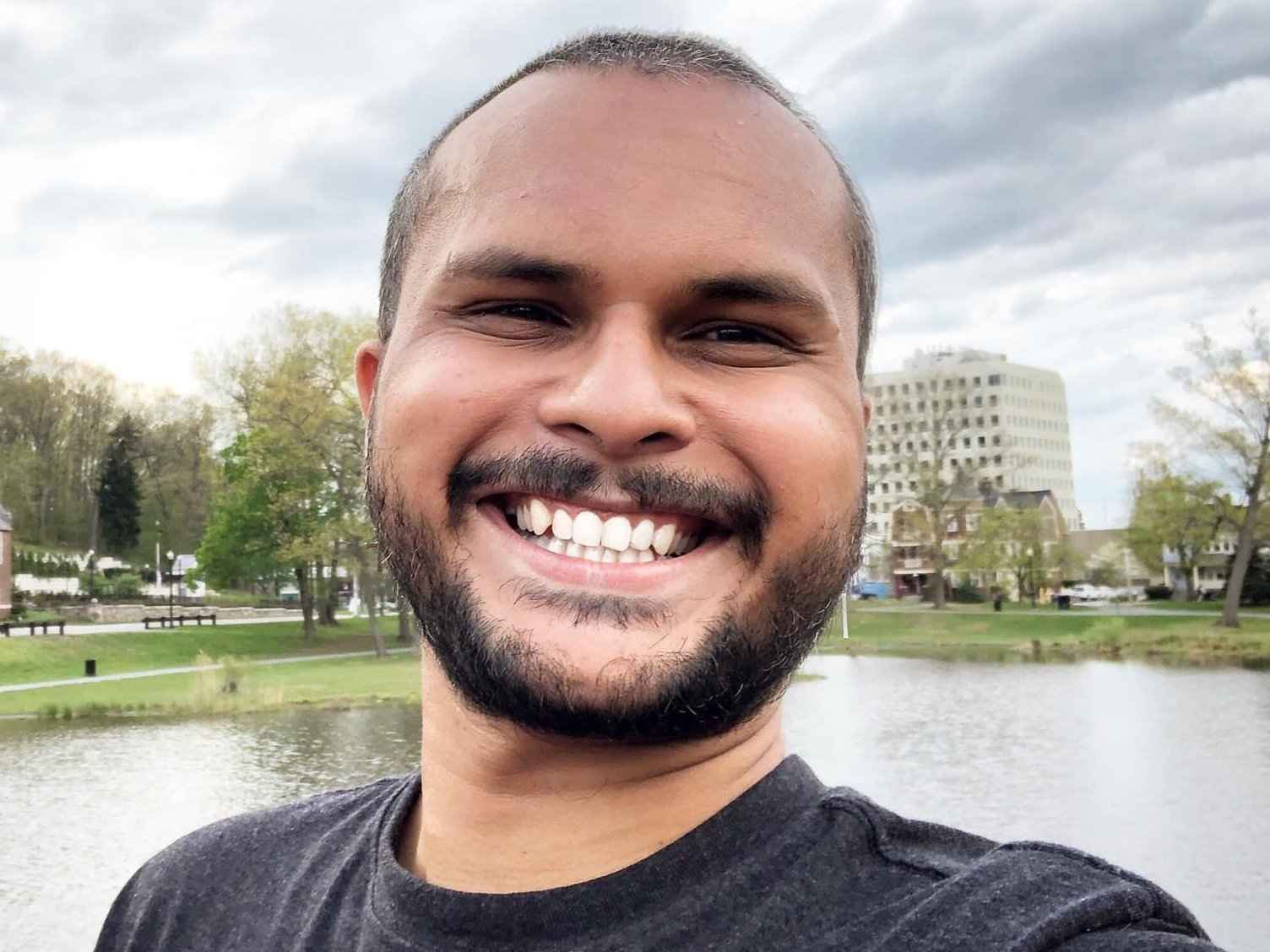 Muhammad is an openly gay guy from Pakistan who now lives in America