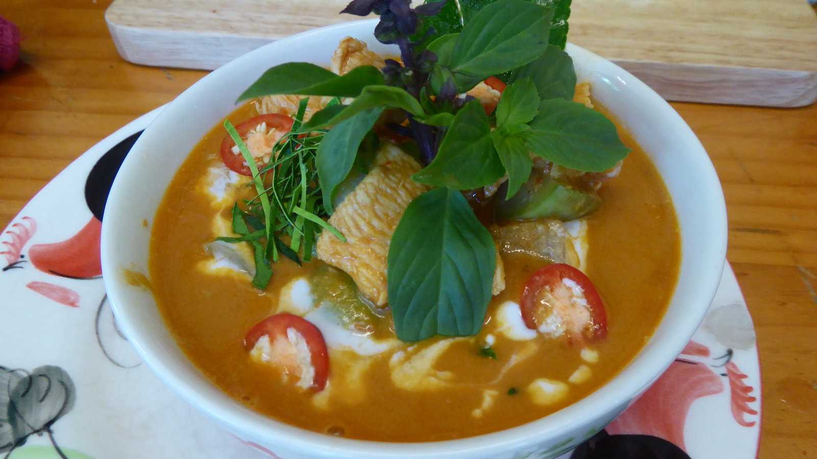 Thai red curry is one of the most delicious variations of a curry