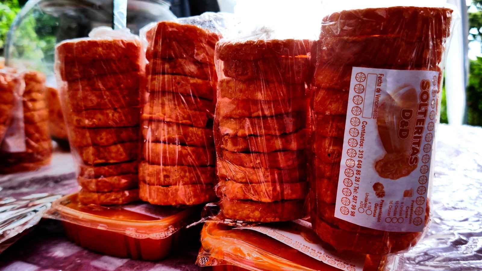 Solteritas são deliciosos petiscos doces crocantes da Colômbia que poderíamos engolir o dia todo