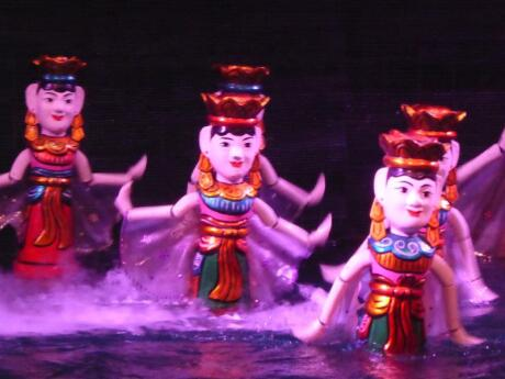 Water puppetry is a time-honored tradition of Vietnam which we recommend you see for yourself