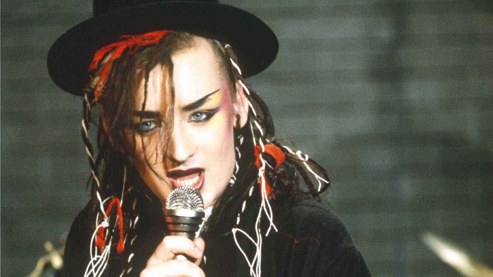 Who could ever forget the gay British icon and singer Boy George?