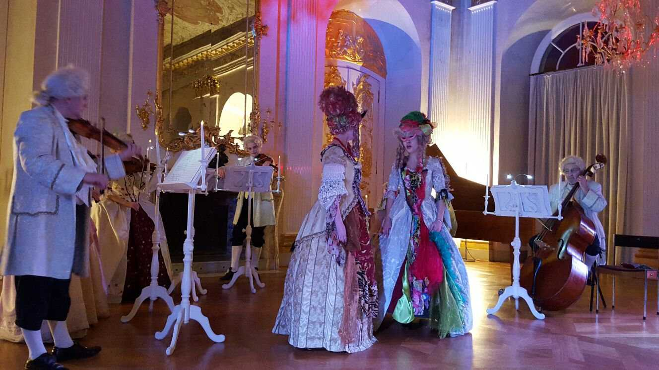 Dinner and a classical musical concert at Charlottenburg Palace is one of the most romantic things to do in Berlin