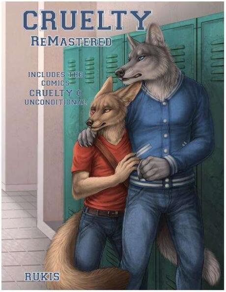 Cruelty é uma história em quadrinhos gay peluda sobre um cara que se apaixona por seu melhor amigo gay e percebe que ele também é gay