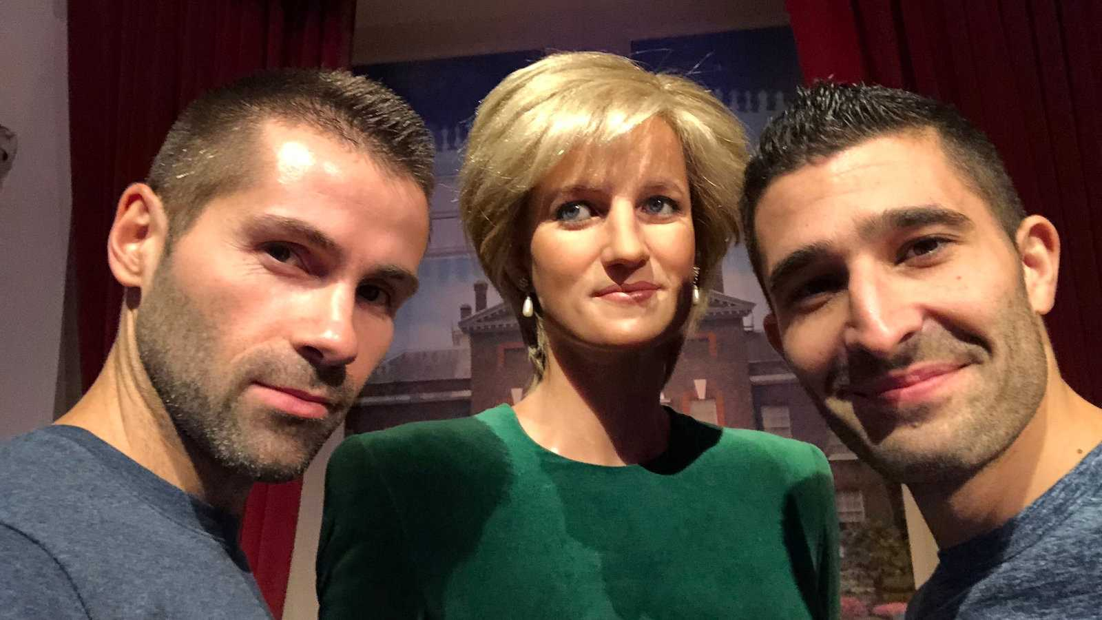 You can get a selfie with Princess Diana at Madame Tussauds in London