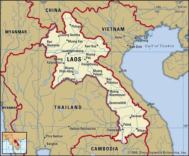 Laos is the only landlocked country in Southeast Asia which has impacted it's economic growth