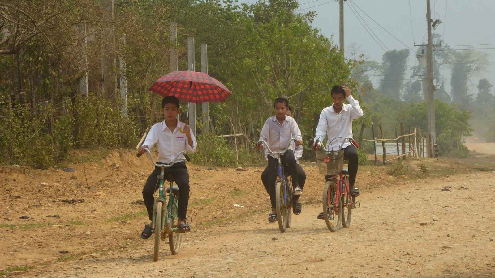 People of Laos are, on average, the second shortest in the world!