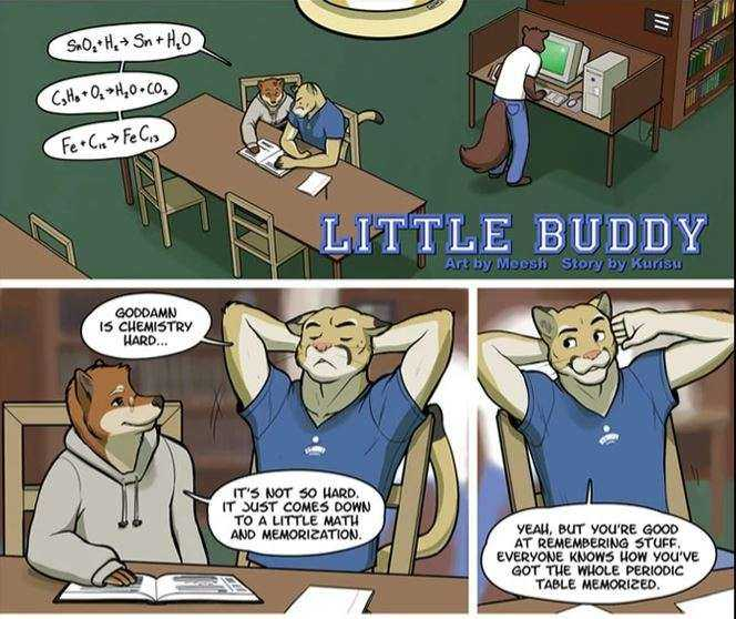 Little Buddy is one of the best gay furry comics about a young boy exploring who he is